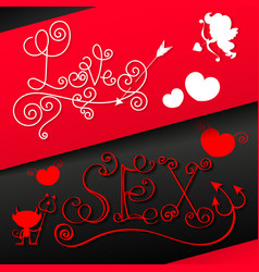 Valentine s daygreeting card vector