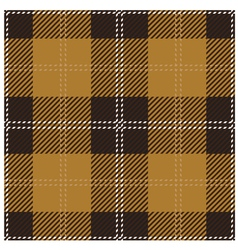 Beige scottish seamless tartan plaid vector