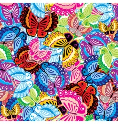 Butterfly background vector
