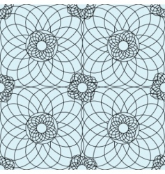 complex guilloche pattern vector image vector image