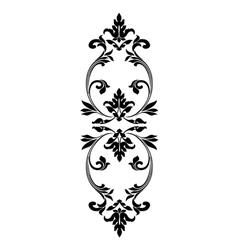 Gothic ornament Decorative vintage elements vector image vector image