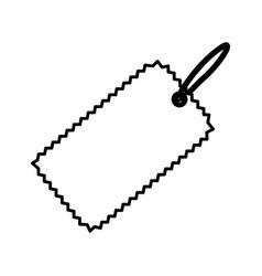 tag icon image vector image