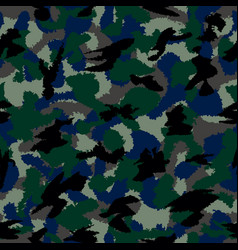 War camouflage seamless pattern can be used for vector
