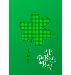 Greeting card banner poster etc with saint vector