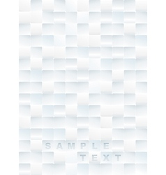 White Tiles Background vector image