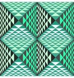 Abstract geometrical background with pyramids vector image vector image