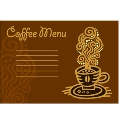Cup of coffee - icon set vector image