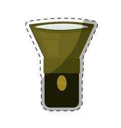 flashlight or lantern icon image vector image vector image