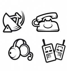 Communication symbols vector