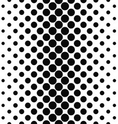 Abstract monochrome vertical dot pattern design vector