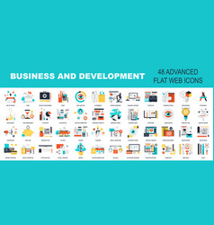 Business and development vector