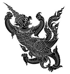 eagle garuda vector image