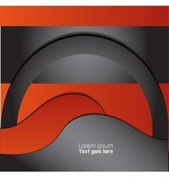 Magazine flyer brochure cover layout design pri vector