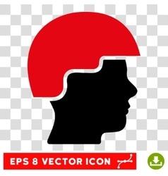 Soldier Helmet Eps Icon vector image