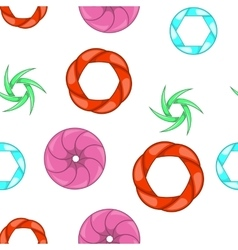 Update page pattern cartoon style vector