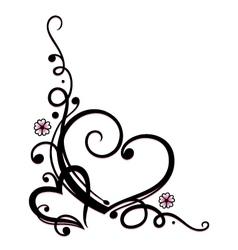valentines day wedding vector image vector image