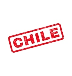 Chile text rubber stamp vector