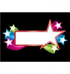 pop banner vector image