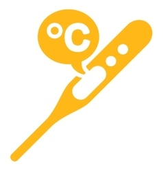 Celsius temperature icon vector
