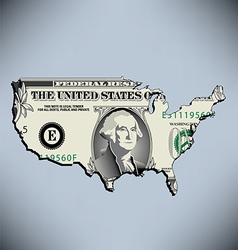 One American Dollar vector image