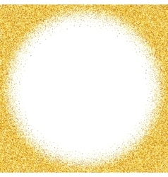 Abstract gold dust glitter background vector