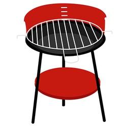 Barbeceu grill vector