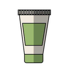 Cream bottle spa product vector