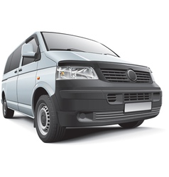Germany light commercial vehicle vector