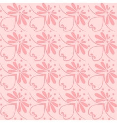 Set seamless floral ornament vector