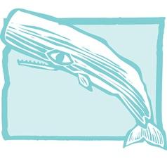 Sperm Whale vector image