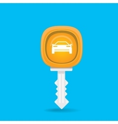 Car rent concept flat icon vector