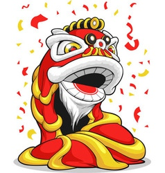 Chinese New Year Lion vector image vector image