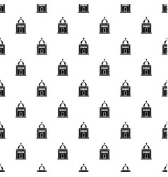 church pattern vector image vector image