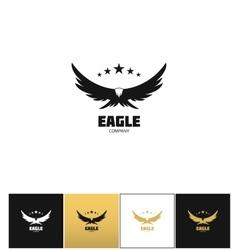 Eagle company icon vector image vector image