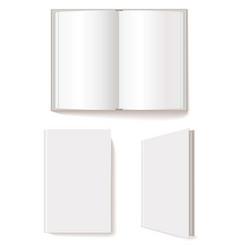 open book closed book vector image