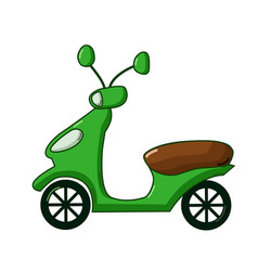 scooter icon cartoon style vector image vector image
