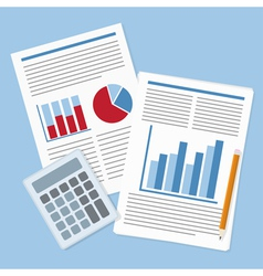 report analysis vector image