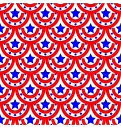 Half-round and star seamless pattern 2005 vector image