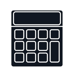 Calculator math gadget vector