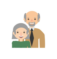 couple family grandparents image vector image vector image