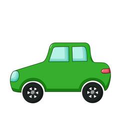 minicar icon cartoon style vector image vector image