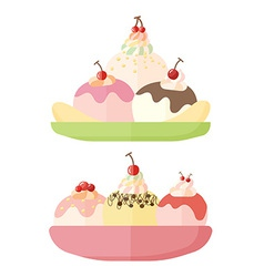 Icon icecream vector