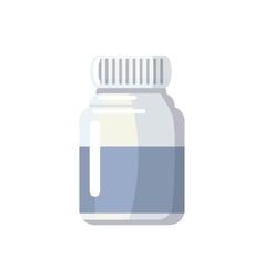 Medicine bottle icon cartoon style vector image vector image
