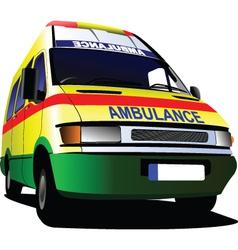 Ambulance vector image vector image