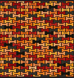 Bone pattern seamless vector