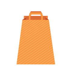 Design template with paper bag vector