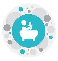 of relatives symbol on bath vector image