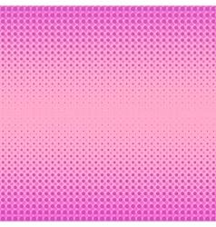 Pink halftone patterns vector