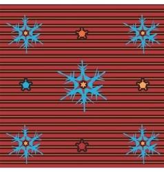 snow flake 3 vector image vector image