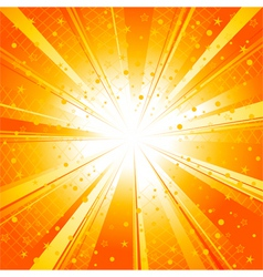Sun ray burst vector